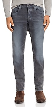 G Star 3301 Slim Fit Jeans in Dark Aged Cobler