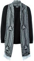 Andrea Crews 'Ross Silver' scarf cardigan
