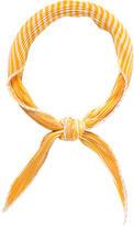 Hermes Soleil Silk Plissé Scarf