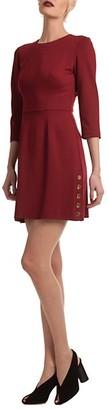 Trina Turk Button Side Mini Dress