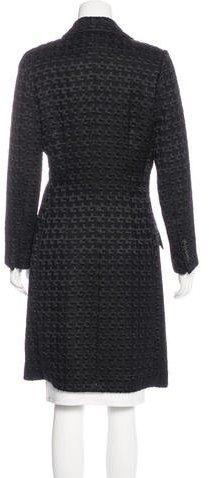 Piazza Sempione Jacquard Wool-Blend Coat