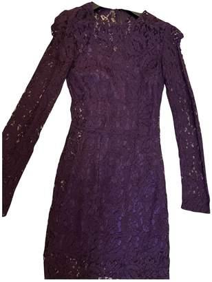 Dolce & Gabbana Purple Lace Dress for Women