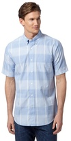 Dockers Light Blue Large Checked Shirt