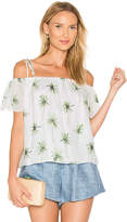 Milly Eden Top in White. - size L (also in M,S,XS)