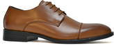 Joseph Abboud Tan Matteo Leather Oxford