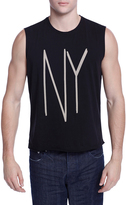 Earnest Sewn Men's Troy NY Cotton Muscle Tee