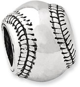 Reflections Sterling Silver Baseball Bead (4mm Diameter Hole)