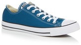 Converse Turquoise 'all Star' Low Top Trainers