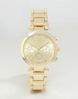 Asos Sleek Gold Dial Watch