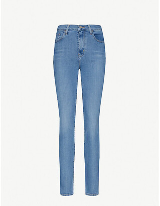 Levi's 724 Straight High-Rise Jeans