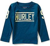 Hurley Baby Boys 12-24 Months Bleachers Long-Sleeve Tee