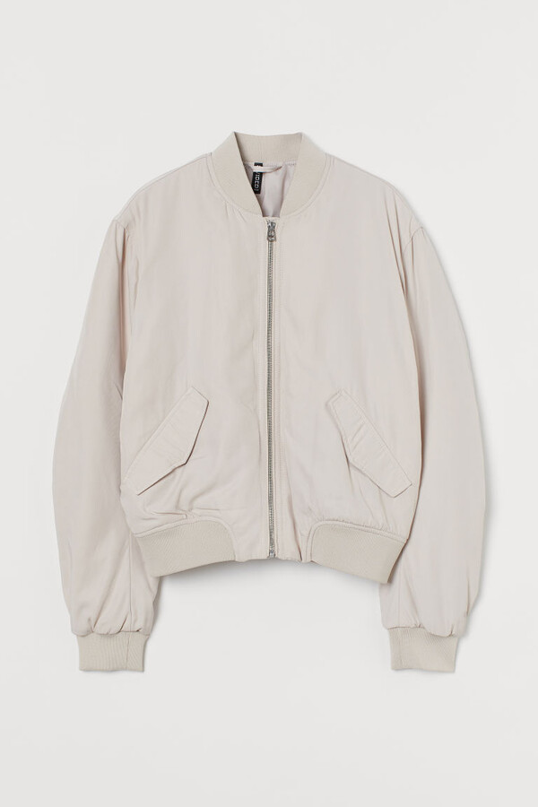 Thumbnail for your product : H&M Padded Bomber Jacket - Beige