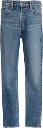 Gold Sign The High-Rise Slim Stretch Jeans