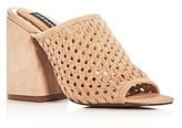 Jaggar Touchstone Open Weave High Heel Slide Sandals