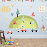 Parkins Interiors Camping Holiday Wall Stickers