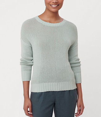LOFT Elliptical Hem Sweater
