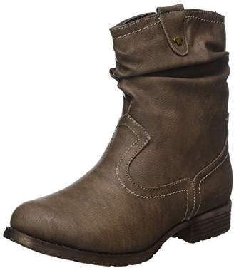Tom Tailor Women's 379990330 Boots, Brown (Taupe)