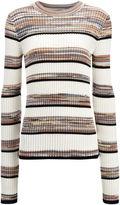 Techno Cotton Stripe Sweater