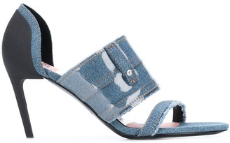 Diesel Denim Sandals