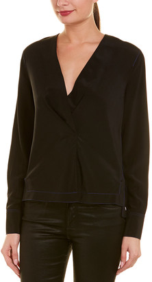 Rag & Bone Shields Silk Shirt