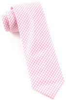 The Tie Bar Petite Gingham Print Tie