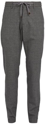 Canali Drawstring Tailored Trousers