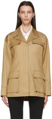 LVIR Beige Strap Field Jacket