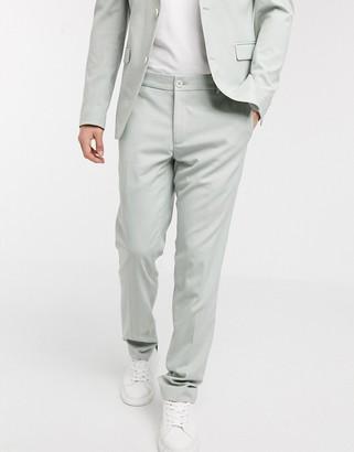 Esprit Slim Suit pants in mint