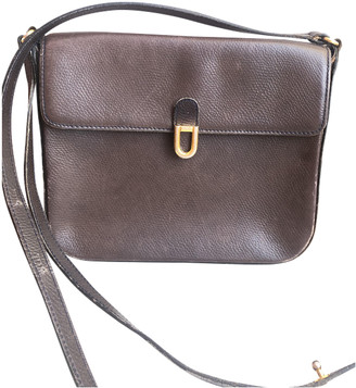 Delvaux Brown Leather Handbags