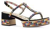Gucci Women's Mira Crystal Embellished Platform Sandal