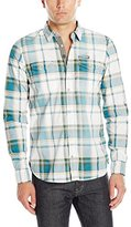 Buffalo David Bitton Men's Salip Long Sleeve Button Down Shirt