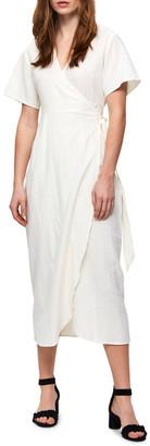 Selected Joella Wrap Dress