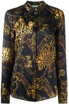 Versace tiger print shirt