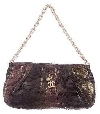 Chanel Python Shoulder Bag