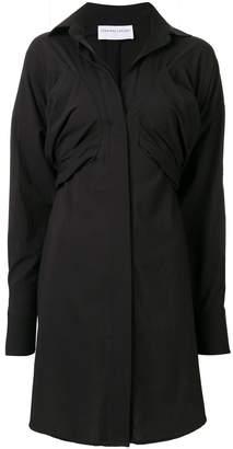 Strateas Carlucci Bust Macro shirt dress