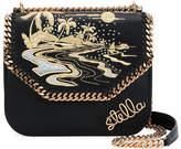 Stella McCartney Falabella Hawaiian Embroidered Shoulder Bag