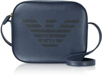 Emporio Armani Eagle Embossed Shoulder Bag