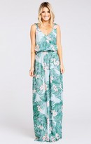 MUMU Kendall Maxi Dress ~ Hanalei Dream