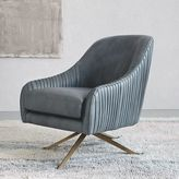 Roar + Rabbit Swivel Chair - Leather