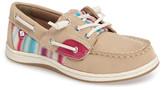 Sperry 'Songfish Jr' Boat Shoe (Walker & Toddler)
