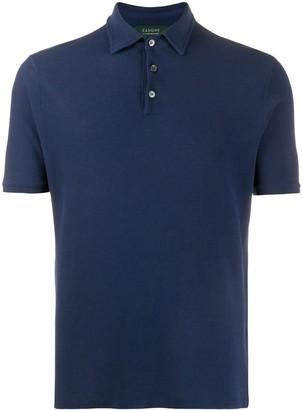 Zanone Plain Polo Shirt