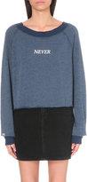 Wildfox Couture Never Ending Fun cotton-blend sweatshirt