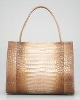 Nancy Gonzalez East-West Crocodile Tote Bag