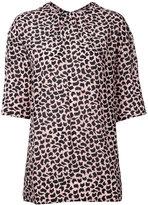 Marni geometric print blouse