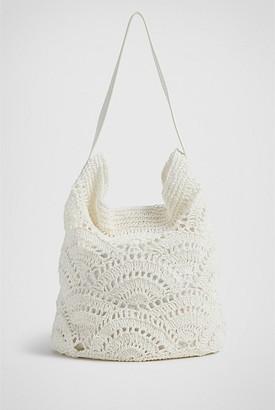 Witchery Amina Crochet Hobo Bag