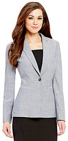 Antonio Melani Ingrid Crosshatch Suiting Jacket