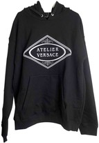 Versace Black Cotton Knitwear & Sweatshirts