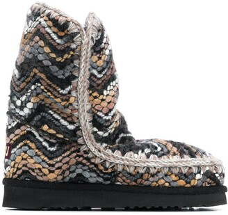 Mou Eskimo 24 woven boots