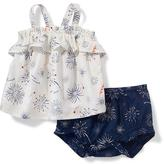 Old Navy 2-Piece Firework-Print Tank and Bloomer Set for Baby