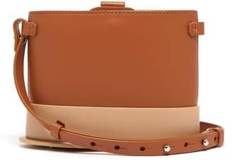 Nico Giani - Frerea Oval Leather Cross Body Bag - Womens - Tan Multi